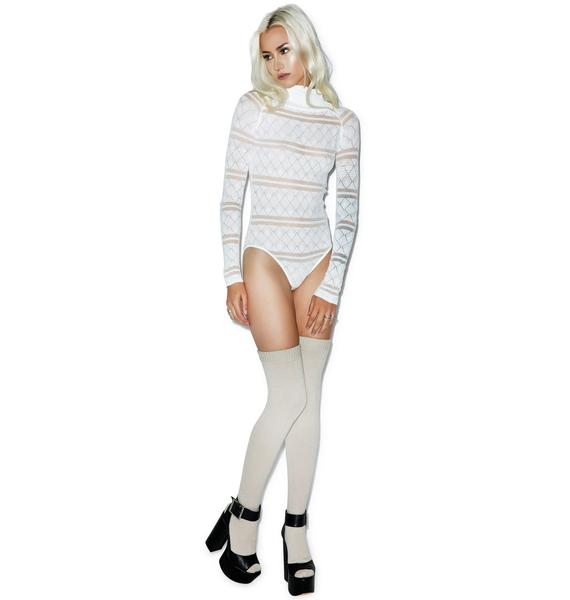 For Love & Lemons Stevie Knit Bodysuit