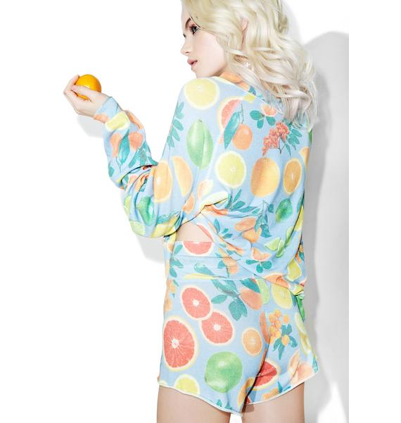 Wildfox Couture Fresh Citrus Cutie Shorts