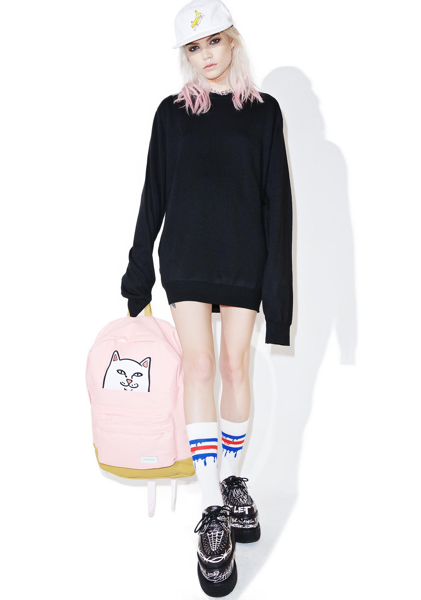 RIPNDIP Stop Being A Pussy Knit