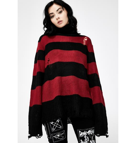 Killstar Seven Knit Sweater