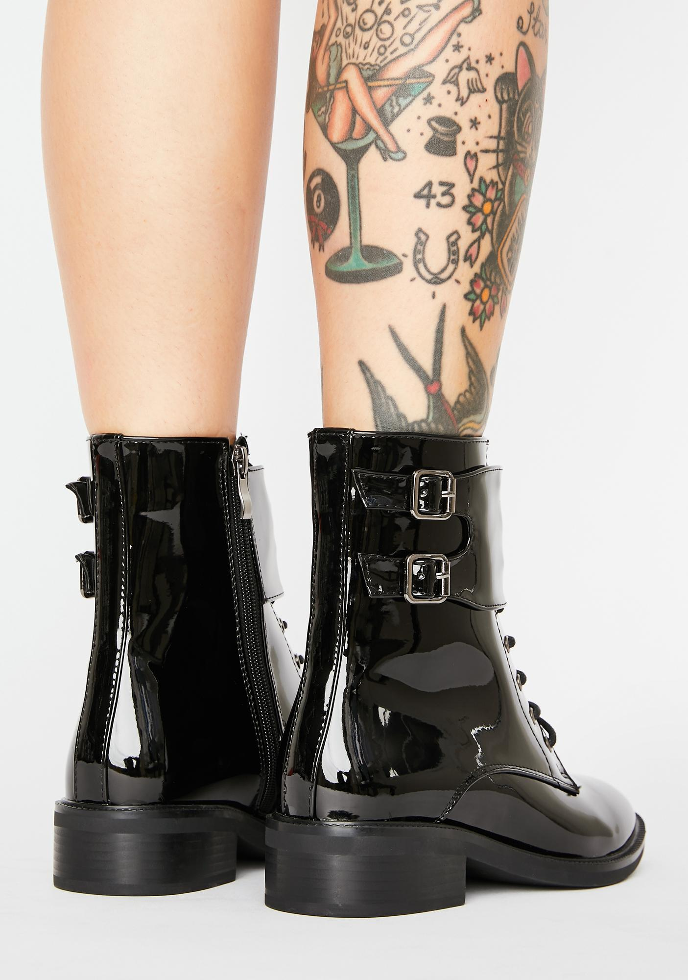 AZALEA WANG Jiin Combat Boots