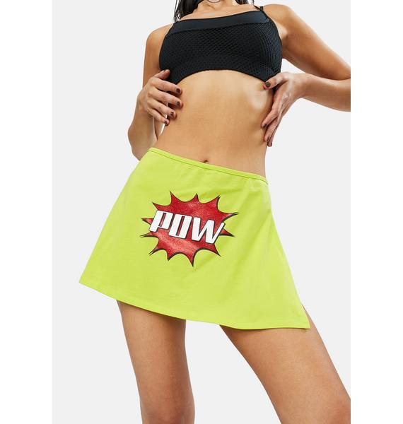 Club Exx Double Whammy Mini Skirt