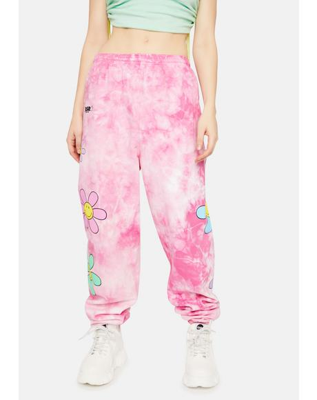 Lil Thang Tie Dye Sweatpants