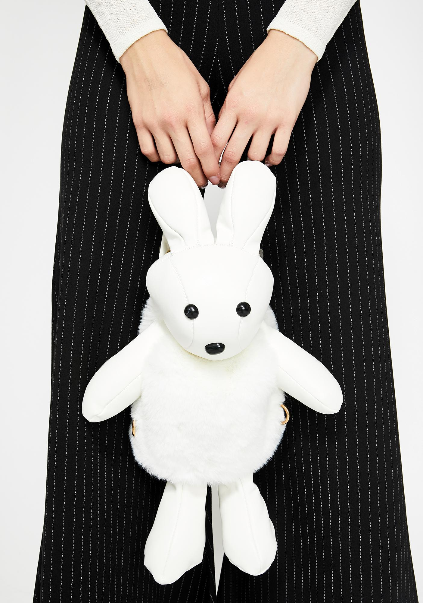 Bad To The Bun Plush Backpack