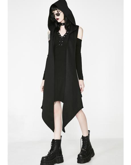 Onyx Fall Deep Dress