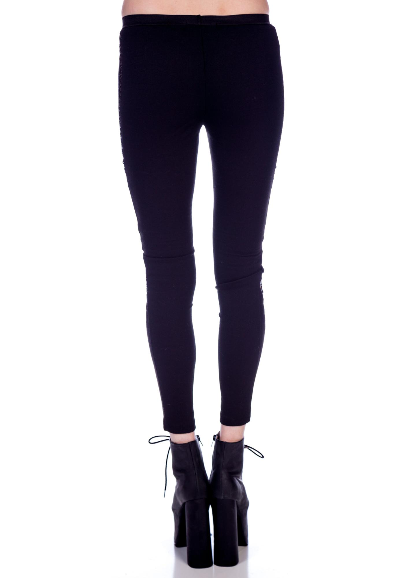 HLZBLZ x Belle of the Brawl In the Dark Leggings