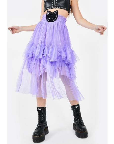 Purrrple Tutu Skirt