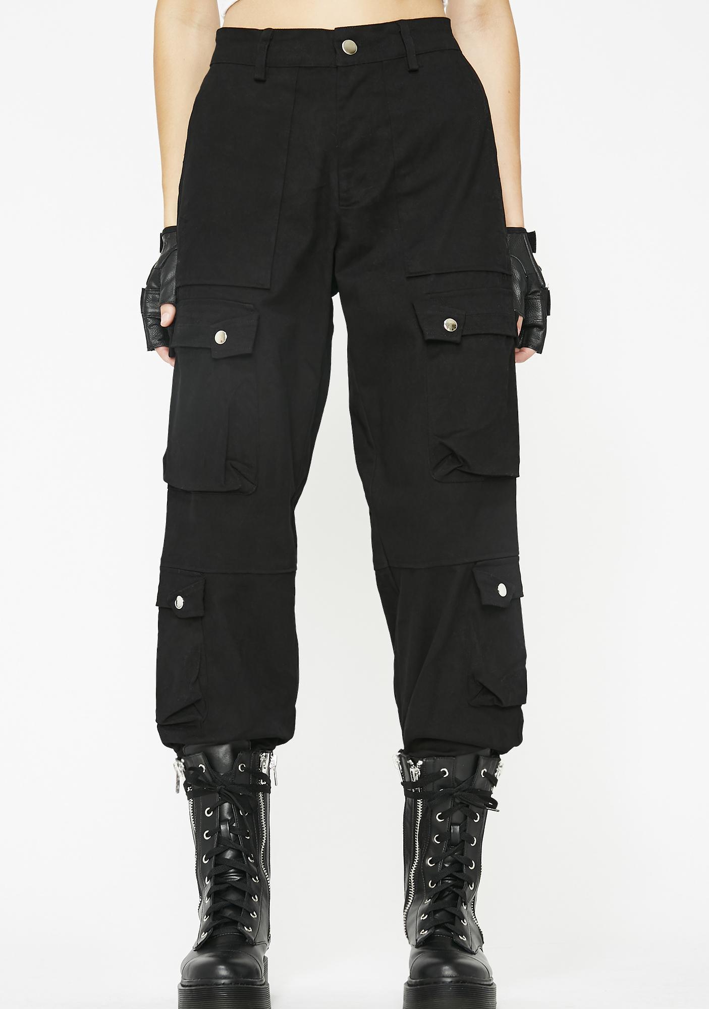 ec579a7ace High Rise Cargo Pants | Dolls Kill