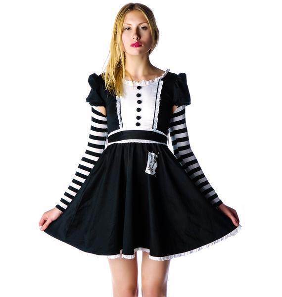 Hell Bunny Malice in Wonderland Lolita Dress