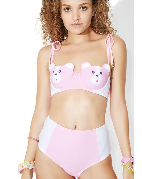 Bear Boob Bikini Bottoms