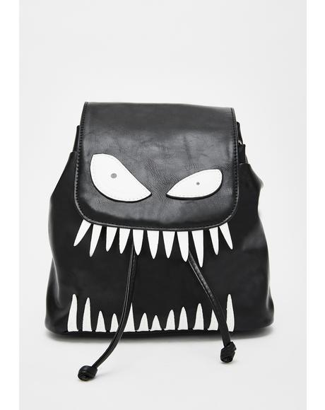Bedtime Monster Drawstring Backpack