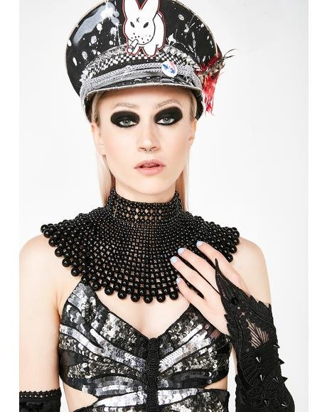 Lethal Regality Beaded Collar