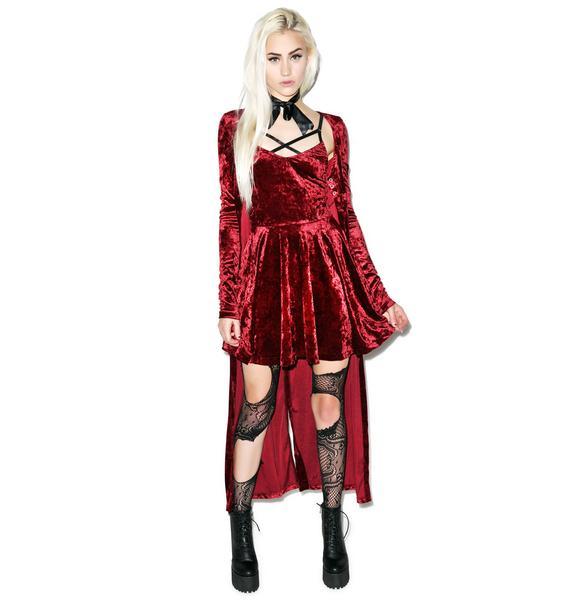 24HRS Your Velvet Crush Dress
