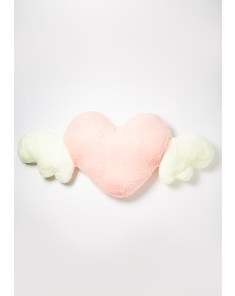 Angel Of Love Plush Pillow