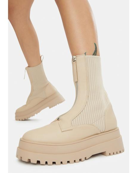 Code Sock Booties