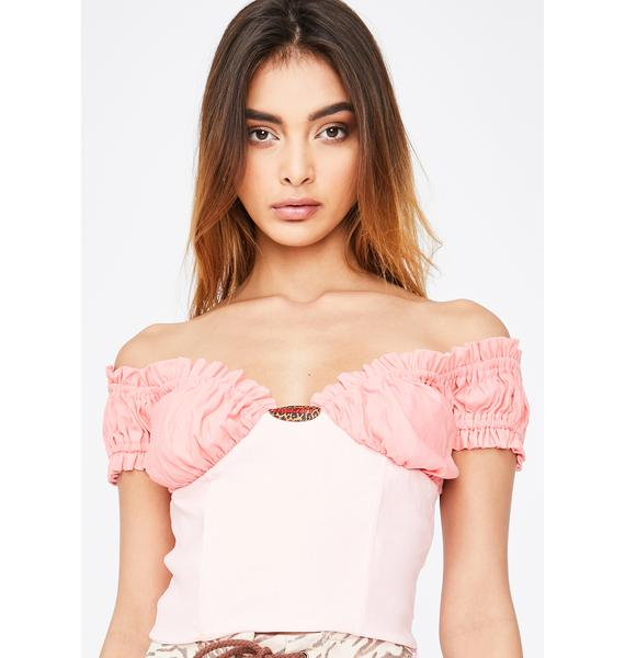 O Mighty Rose Pink Top