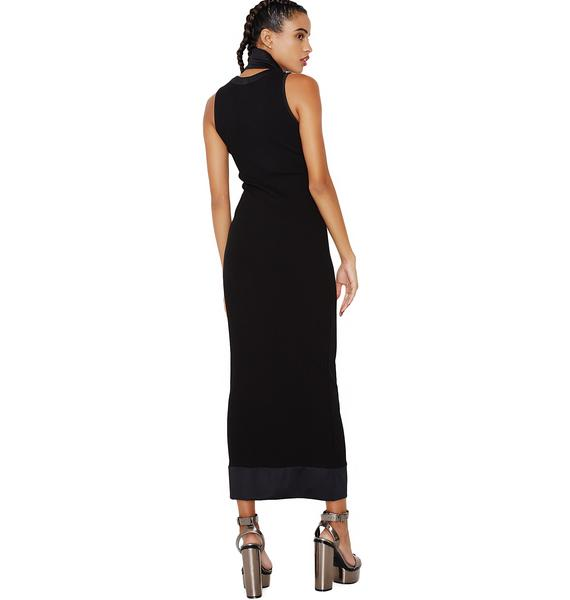 Command Attention Midi Dress