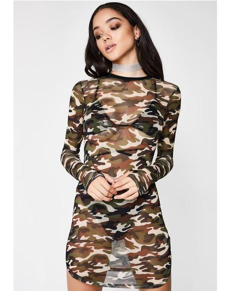 Secret Mission Camo Dress