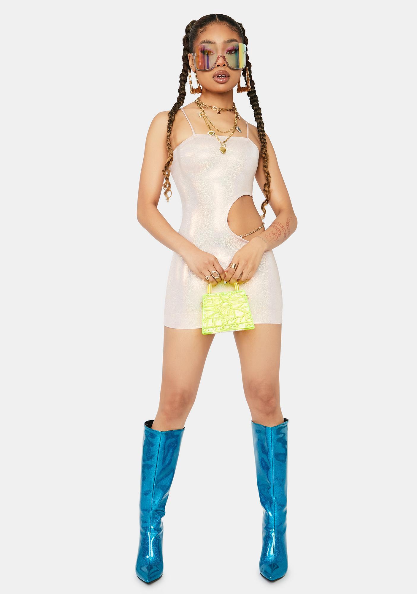 Pixie Hottie Behavior Cutout Bodycon Dress