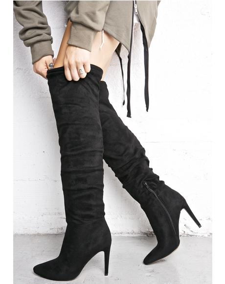 Claudette Knee High Boots