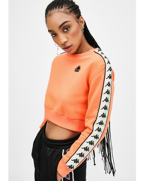 Melon 222 Banda Bacroy Crop Sweatshirt