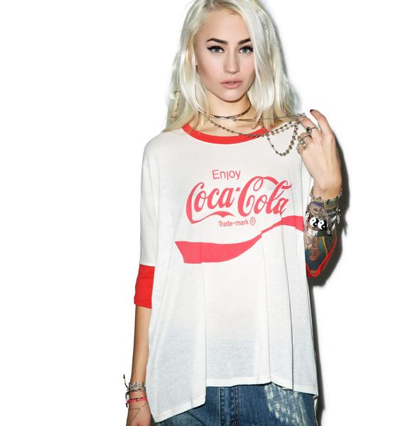 Wildfox Couture Coca Cola Sunny Morning Tee
