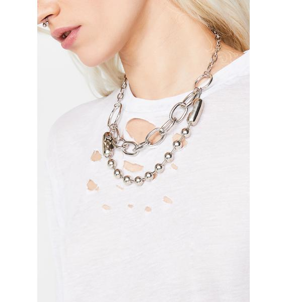 Club Chaos Chain Necklace