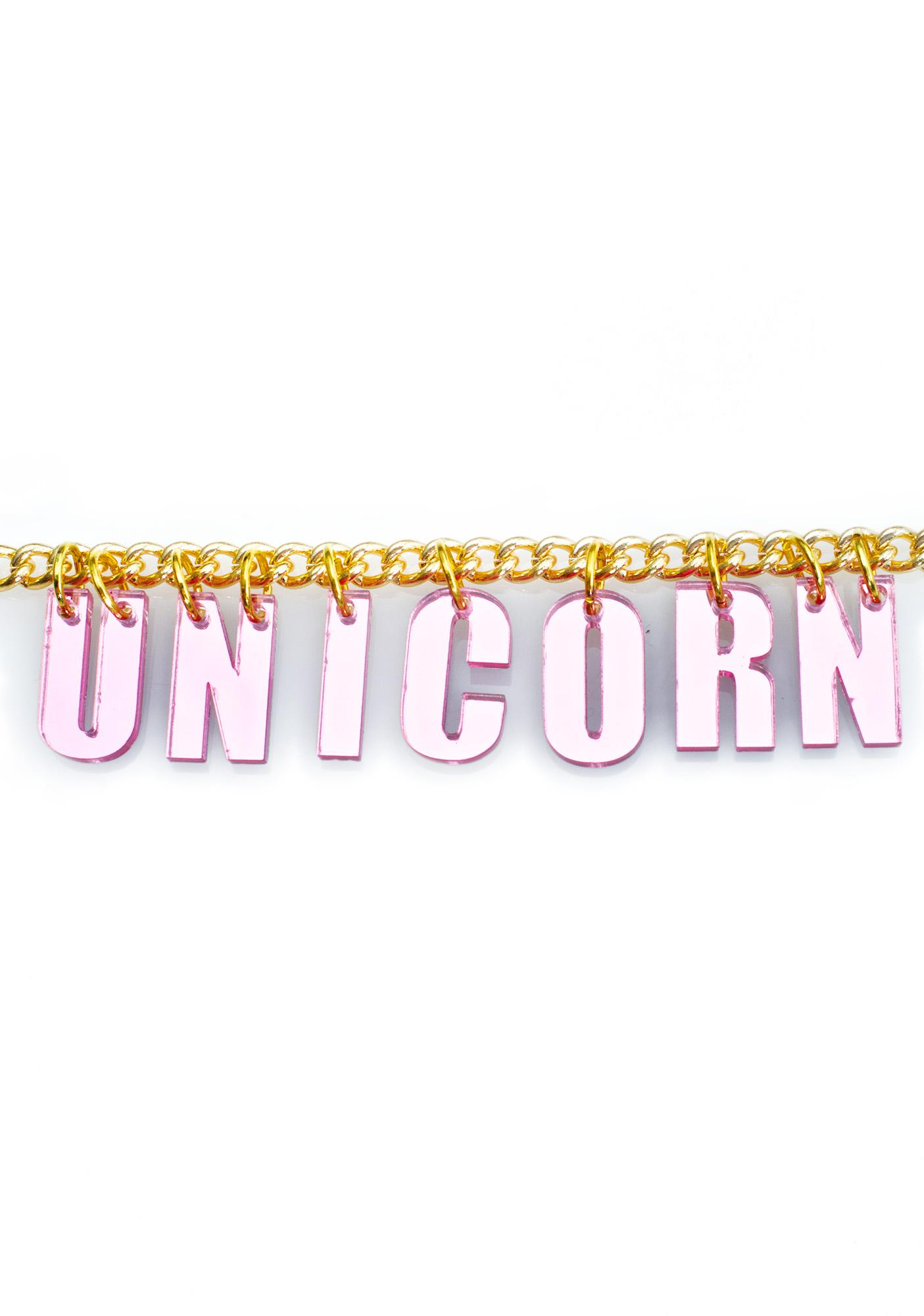Trixy Starr Unicorn Necklace