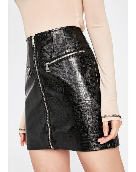 Naughty Mischief Mini Skirt