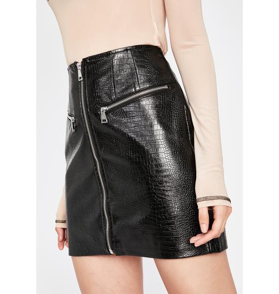 Naughty Mischief Mini Skirt