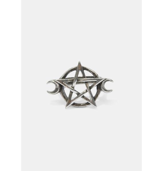 Alchemy England Goddess Pentagram Ring