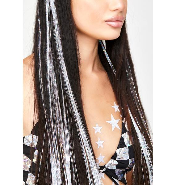 SHRINE Silver Hair Extensions