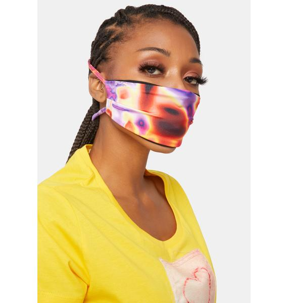 Soulan Zee Lava Trippin Face Mask