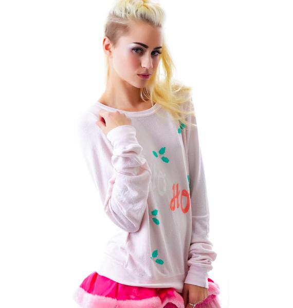 Wildfox Couture Ho Ho Baggy Beach Jumper