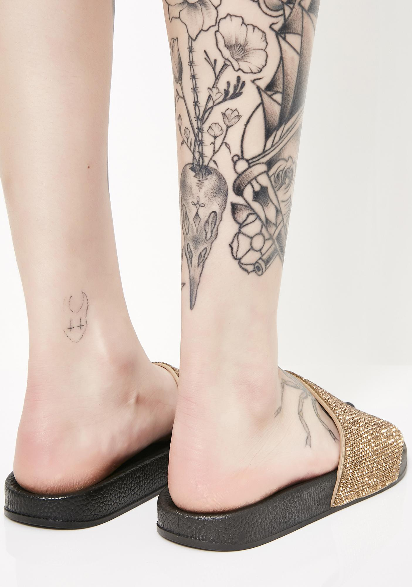 Bronze Livin' Lavish Slides