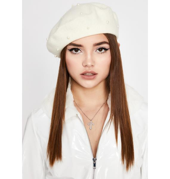 Angel Heiress Intuition Pearl Beret