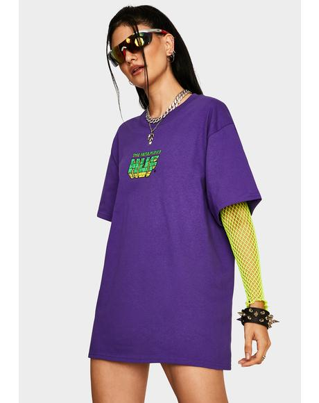 Grape The Infamous HUF Graphic Tee
