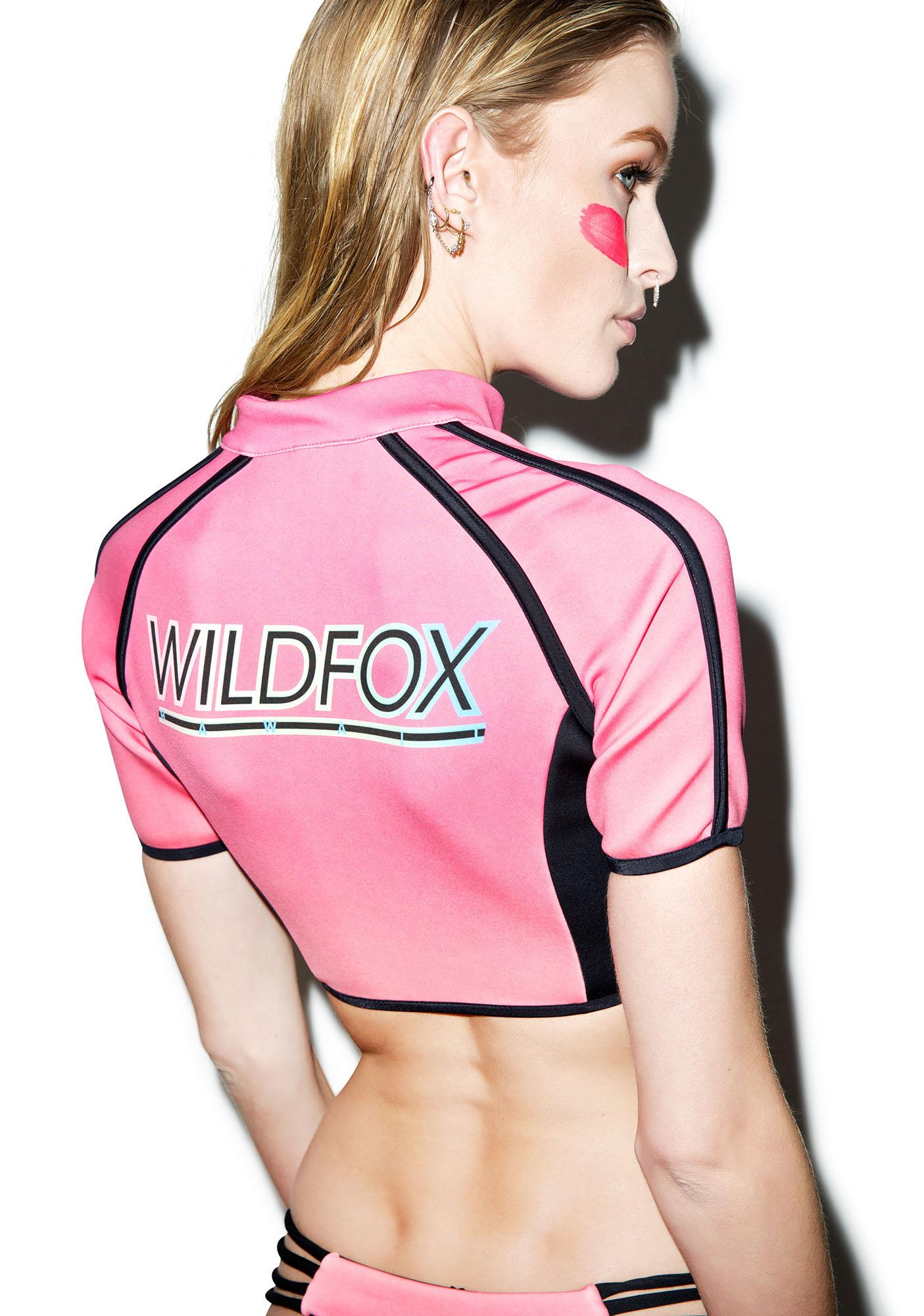 Wildfox Couture Wildfox Hawaii Surfer Crop Top