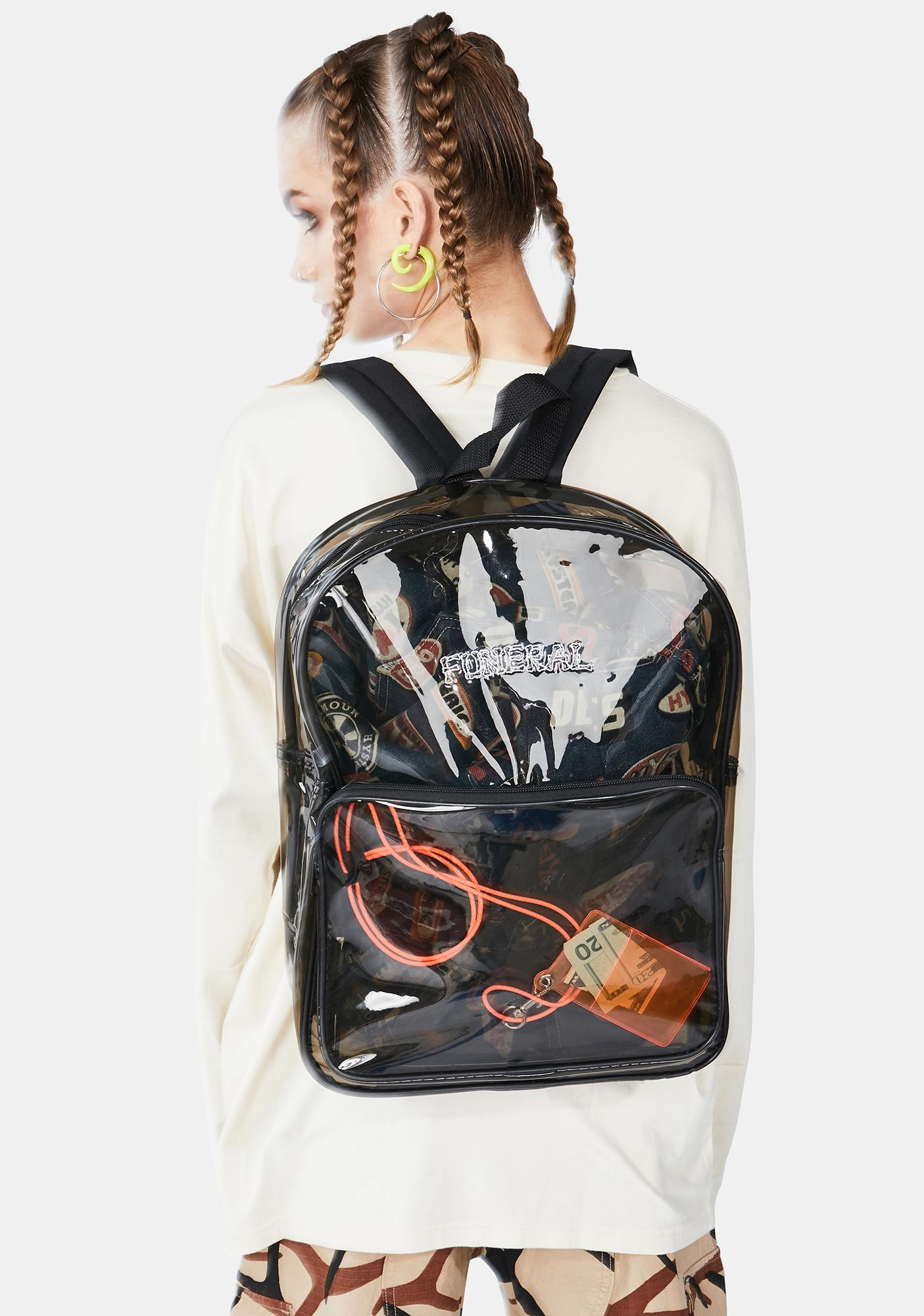 Funeral Logo Small Backpack