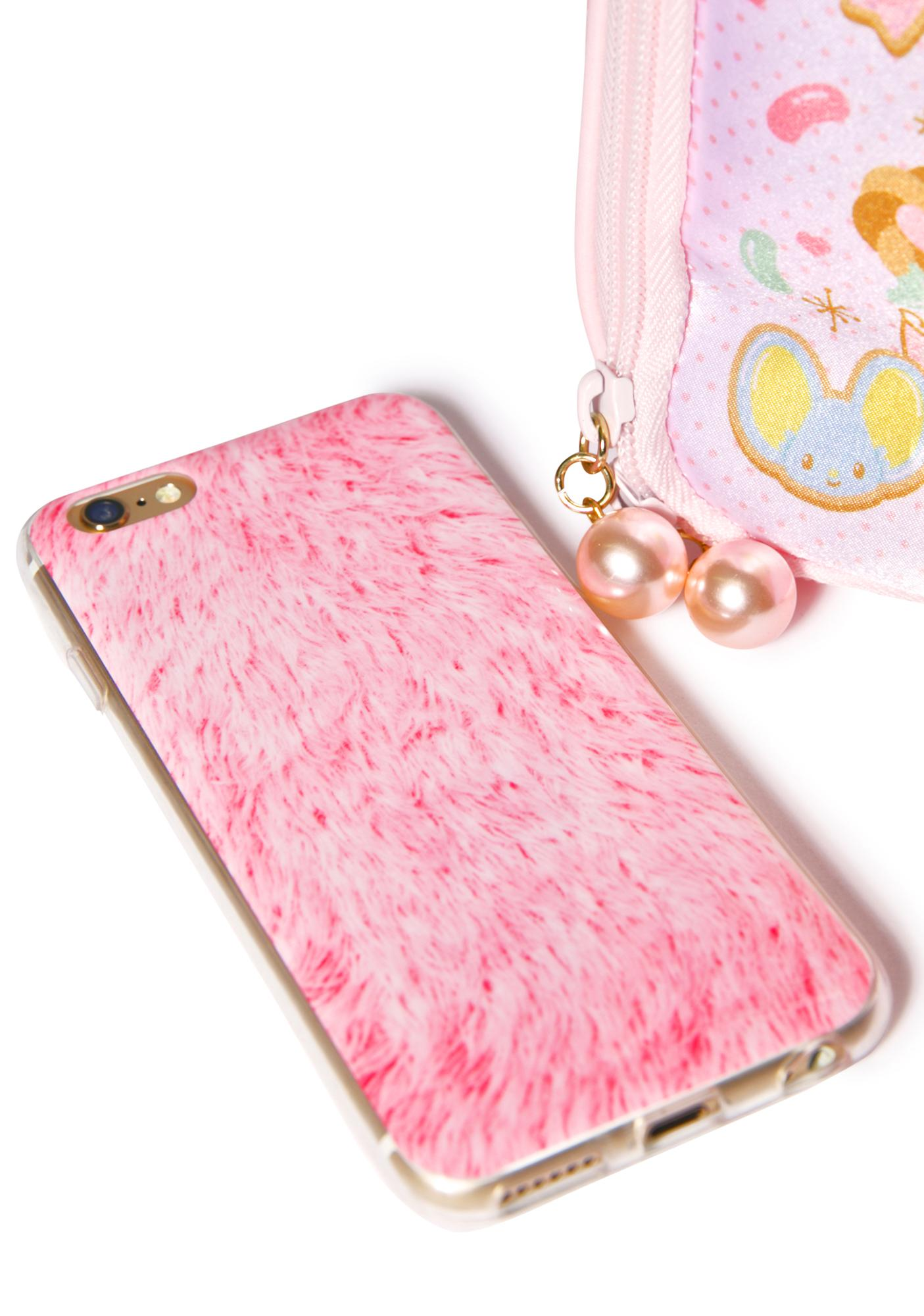 Local Heroes Pink Fur iPhone 6 Case