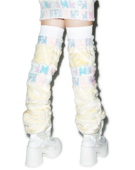 Snow Bunny Leg Warmers