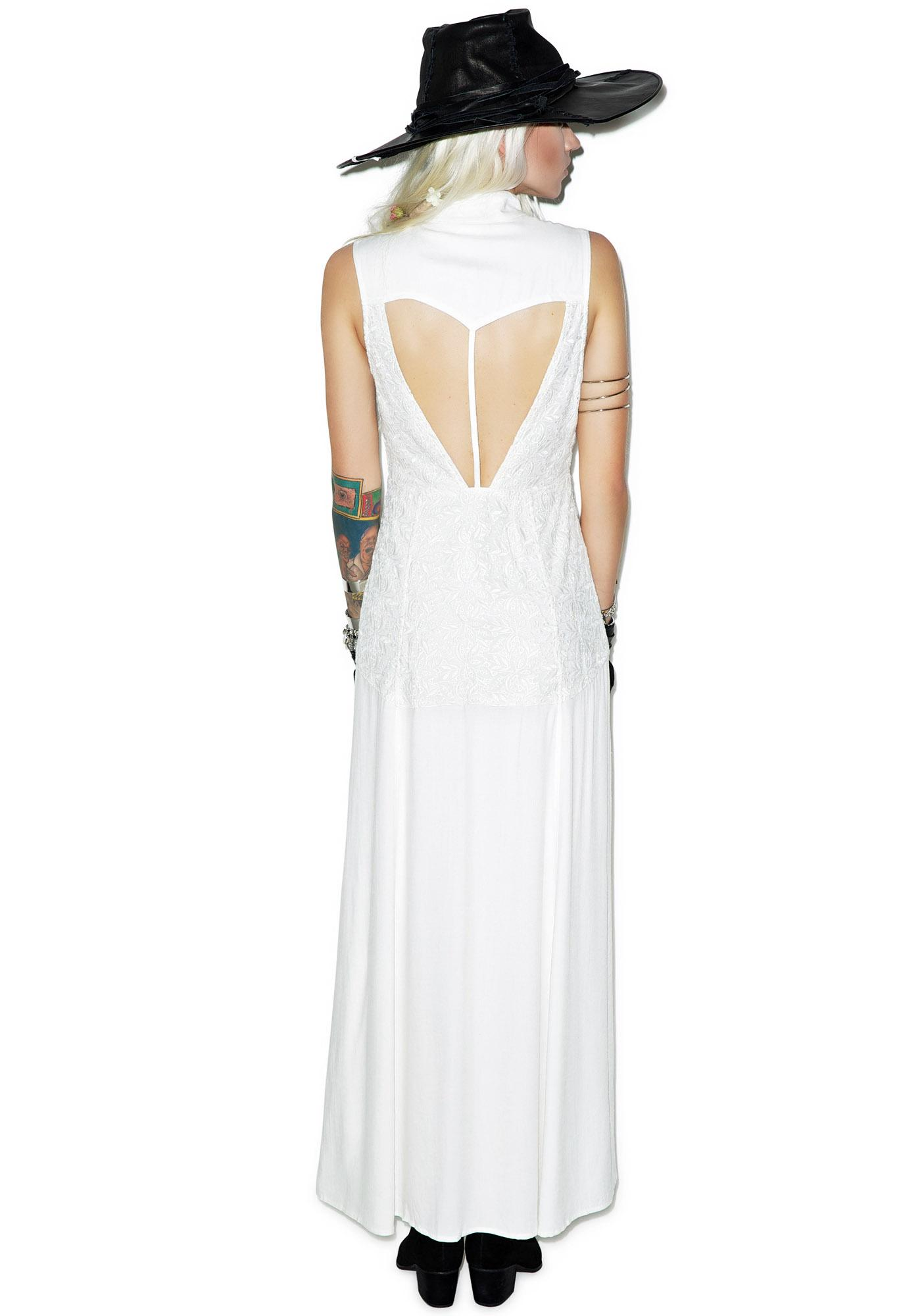 Somedays Lovin Persistence Lace Maxi Dress