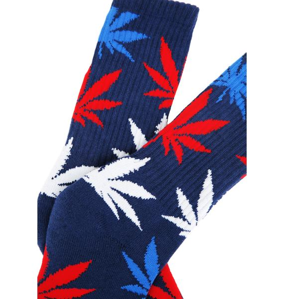 HUF USA Plantlife Socks