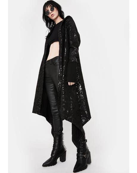 Demon Hooded Cardigan