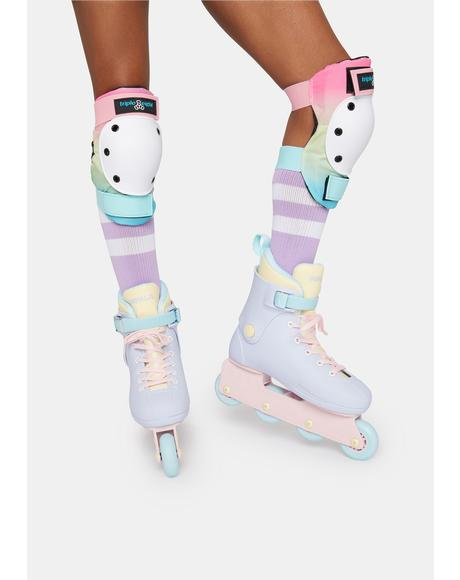 Fairy Floss Lightspeed Inline Skates