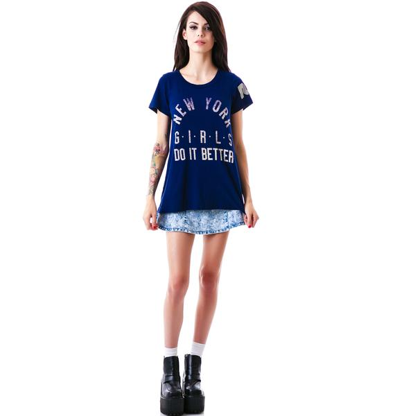 Rebel Yell NY Girls Do It Tee