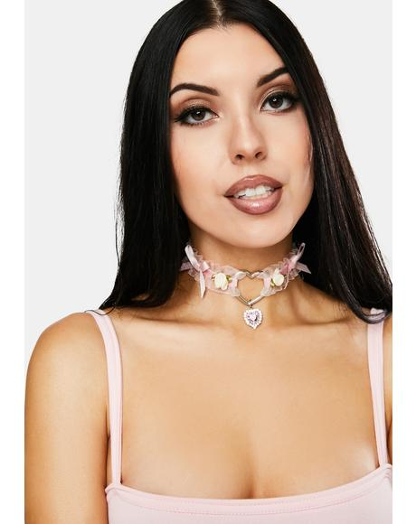 Dream Come True Ruffle Choker