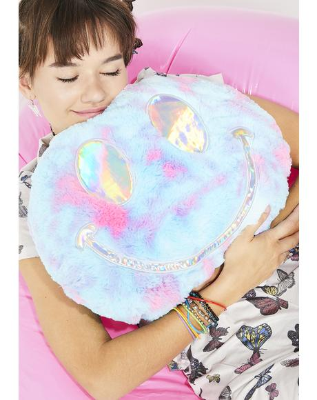 Good Vibez Only Tie Dye Pillow