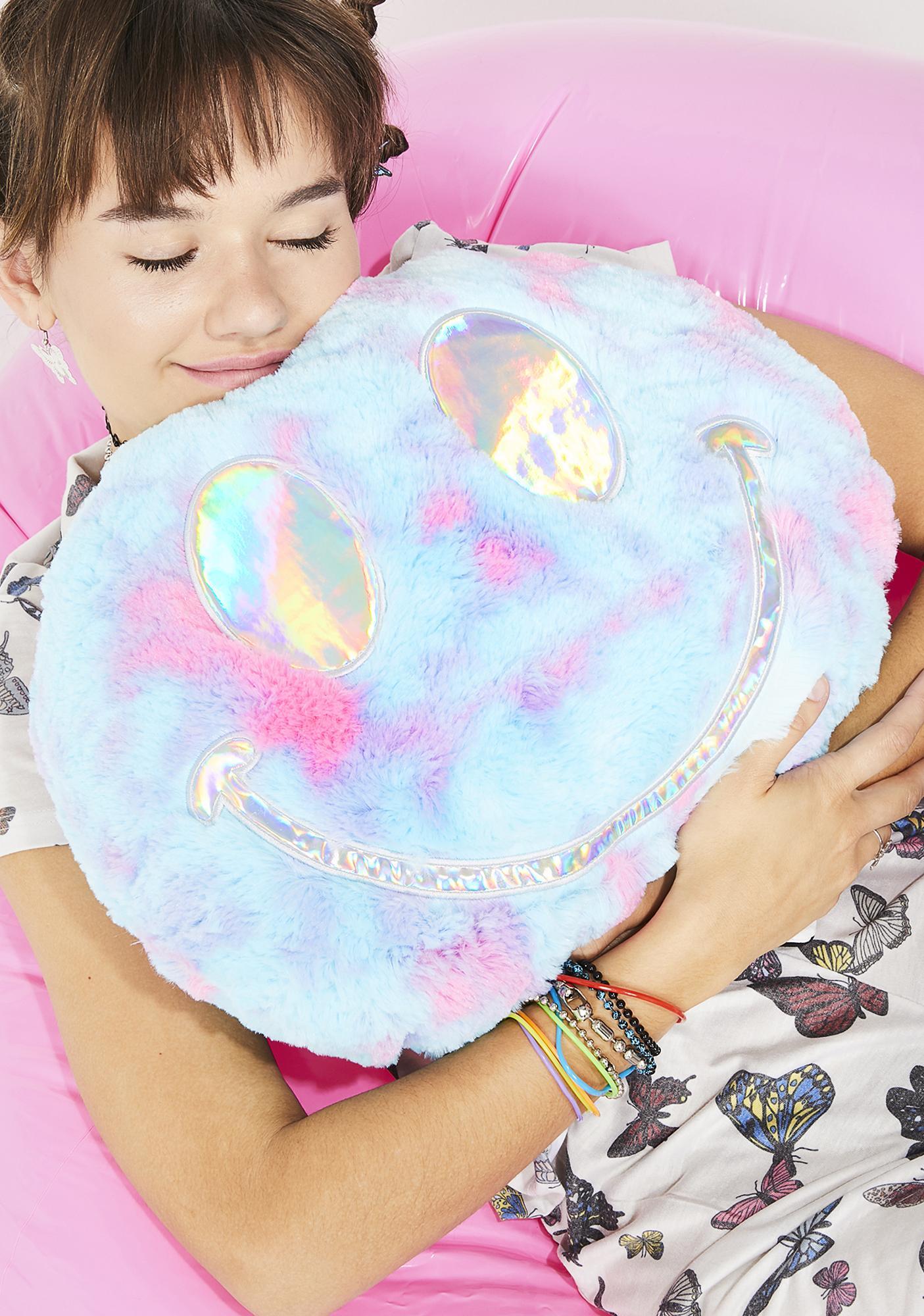 Good Vibez Only Tie Dye Pillow