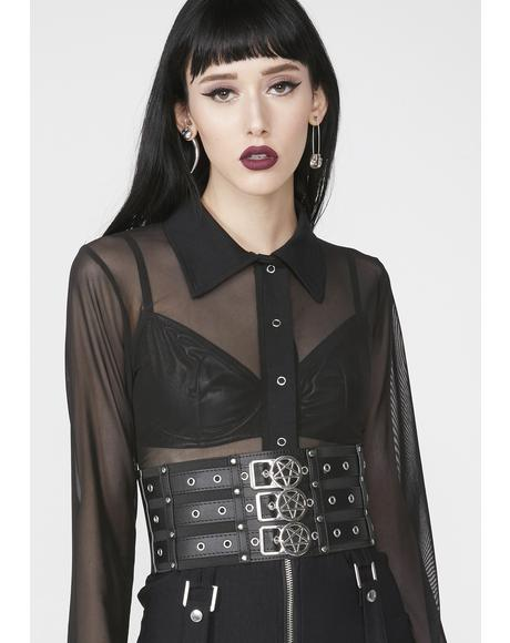 Slay Yes Corset Belt